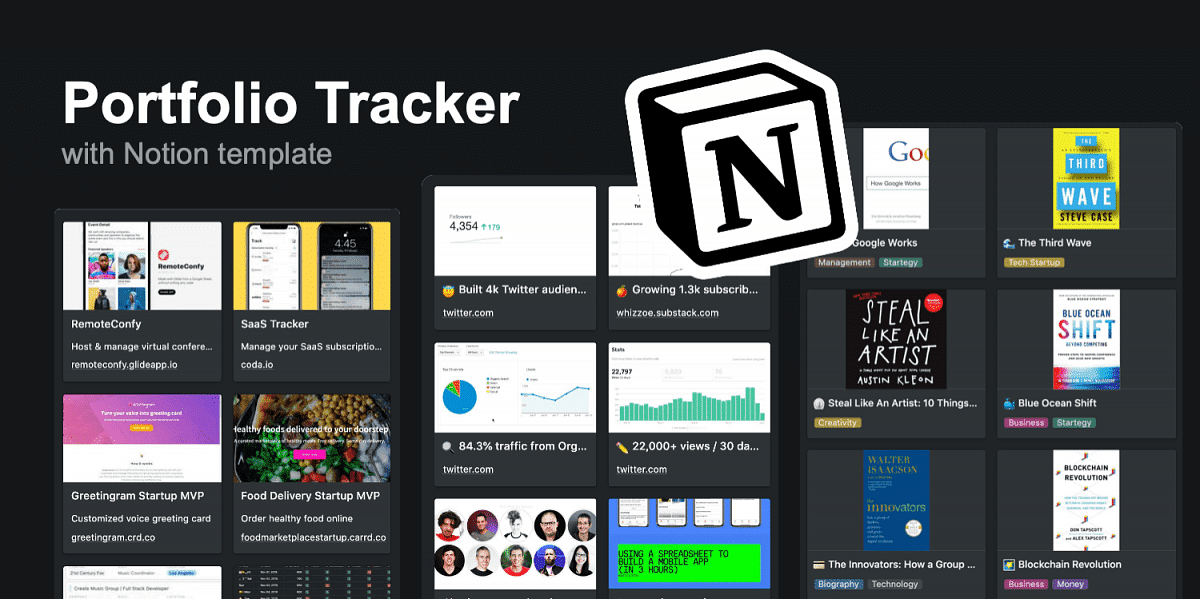 Track all Your Side Project in 1 Notion template